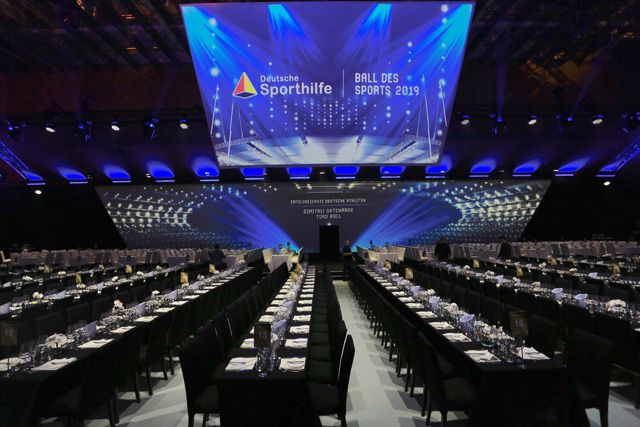 Kuffler Congress Catering auf dem Ball des Sports 2019